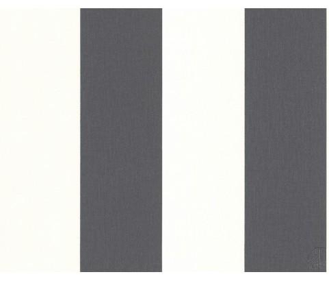 Tapeta 1790-50 Szaro-białe pasy