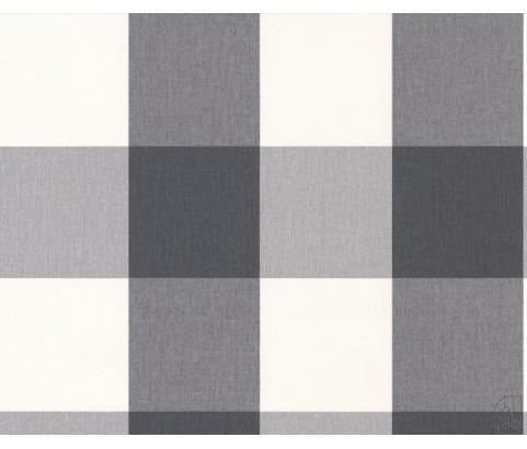 Tapeta 2063-67 Szaro-biała kratka