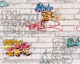 Tapeta 9356-11 Kolorowe Grafitti