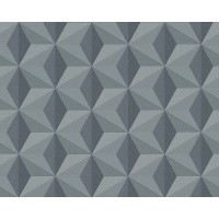 Tapeta 96255-2 Grafitowe Wzory 3D