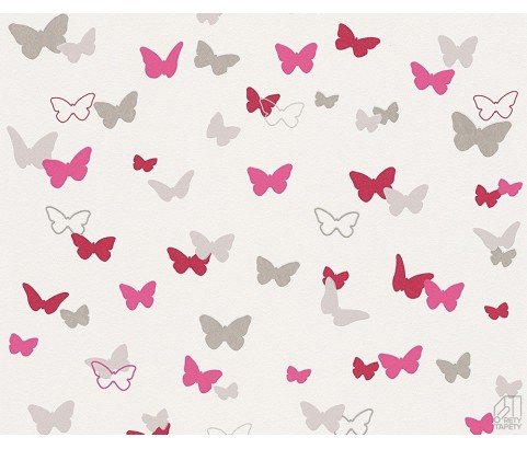 Tapeta Esprit Kids 3028-92 Rożowe Motylki