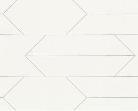 Tapeta 34868-1 Delikatne Białe Kostki