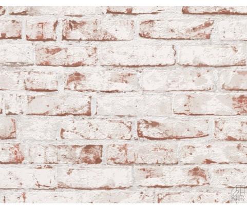 Tapeta 9078-13 Czerwono-Bielona Cegła