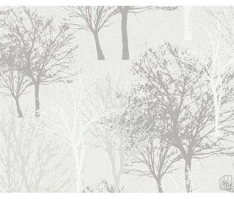 Tapeta 36147-2 Beżowe Drzewa