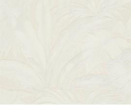 Tapeta VERSACE 96240-2 Białe Liście Palmy