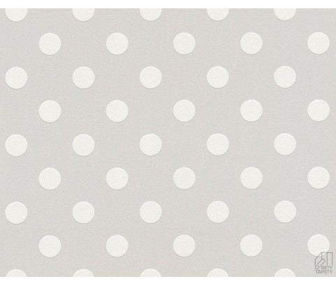 Tapeta 36934-2 Białe Grochy
