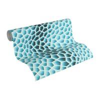 Tapeta 32709-2 Niebieskie Plastry Miodu