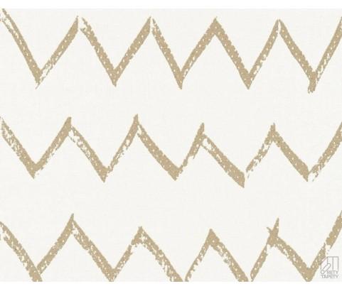 Tapeta 36574-4 Złoty Odręczny Zyg Zak