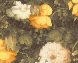 Tapeta 36921-1 Żółte kwiaty