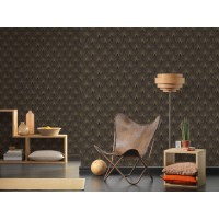 Tapeta 37427-3 Złote wzory Art Deco