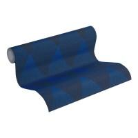 Tapeta 37419-1 Niebieskie Romby