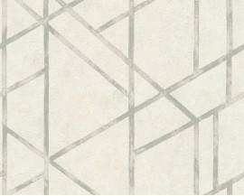 Tapeta 36928-5 Białe Graficzne Wzory