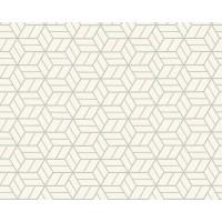 Tapeta 36920-3 Białe Graficzne Wzory