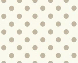 Tapeta 36934-1 Beżowe Grochy