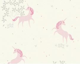 Tapeta 36989-1 Różowe jednorożce