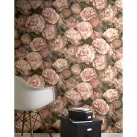 Tapeta 37402-2 Różowe Piwonie 3D