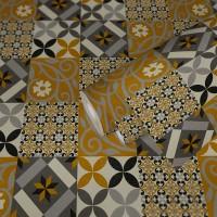 Tapeta 37684-1 Żółte płytki