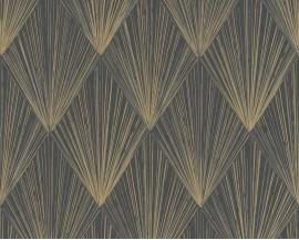 Tapeta 37864-4 Złote wzory Art Deco