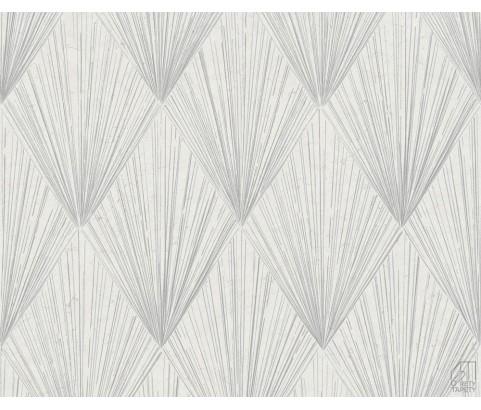 Tapeta 37864-1 Srebrne wzory Art Deco