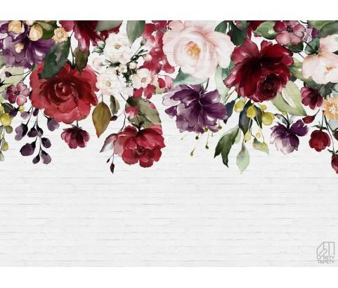 Fototapeta Malowane Kwiaty