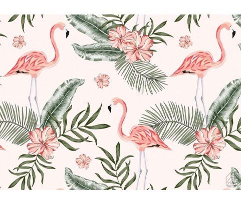Fototapeta Różowe Flamingi