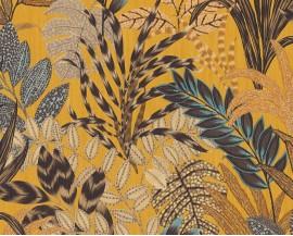 Tapeta 37860-1 Żółte Palmy