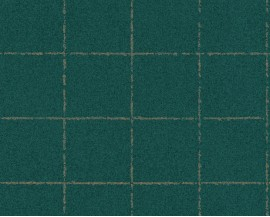 Tapeta 37551-1 Zielona kratka