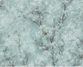 Tapeta 37420-3 Turkusowy Kwiat Wiśni