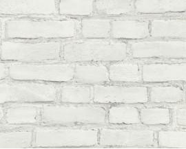 Tapeta 37414-2 Biała Cegła