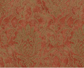 Tapeta 37653-1 Czerwony ornament