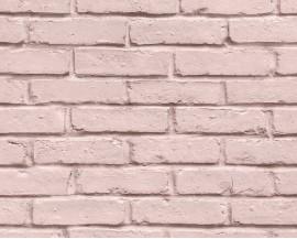Tapeta 35856-3 Różowa cegła